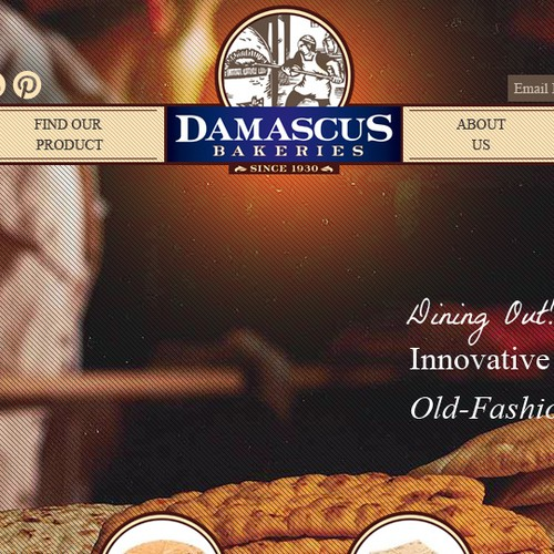 New website design wanted for Damascus Bakeries