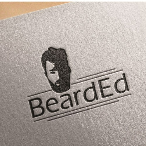 Logo for beard grooming products