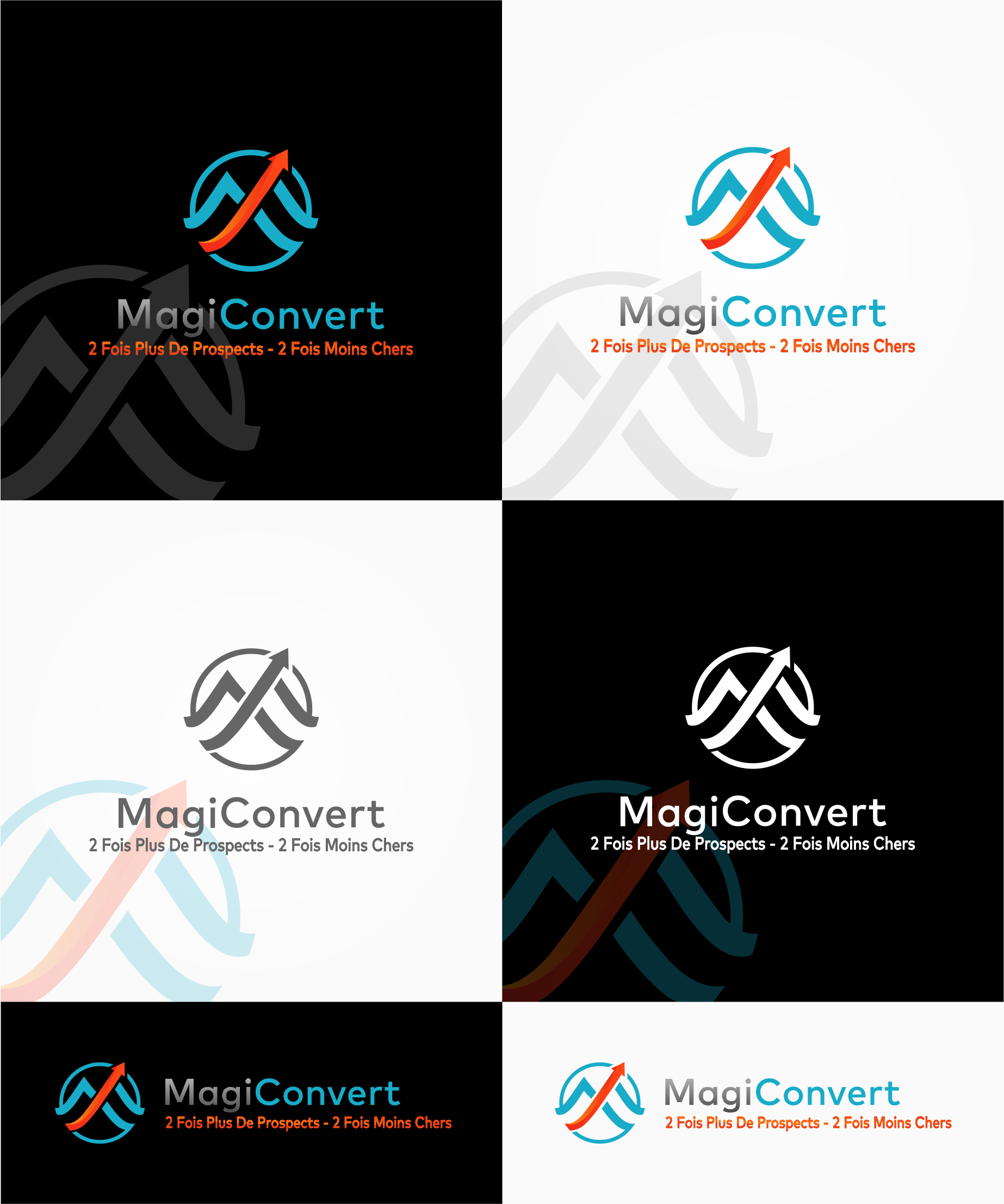 Logo  for Application of Convert Leads - Logo innovant pour le premier produit de conversion de leads