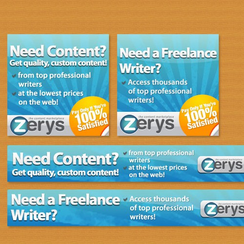 Zerys Banner Ad