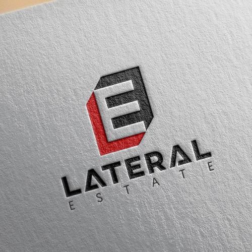 Lateral Estate Logo design