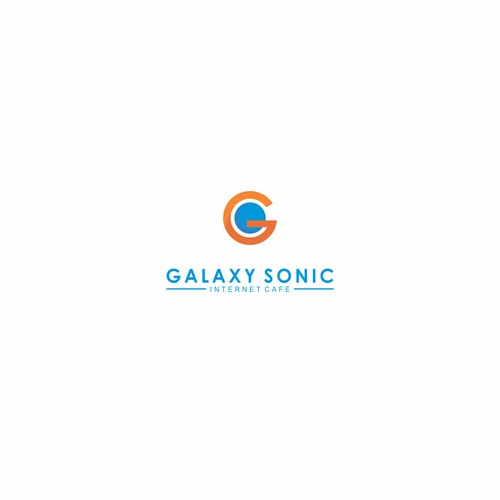 Logo concept for internet cafe