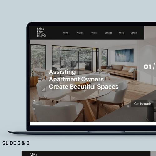 Web Design for Home Renovating Company