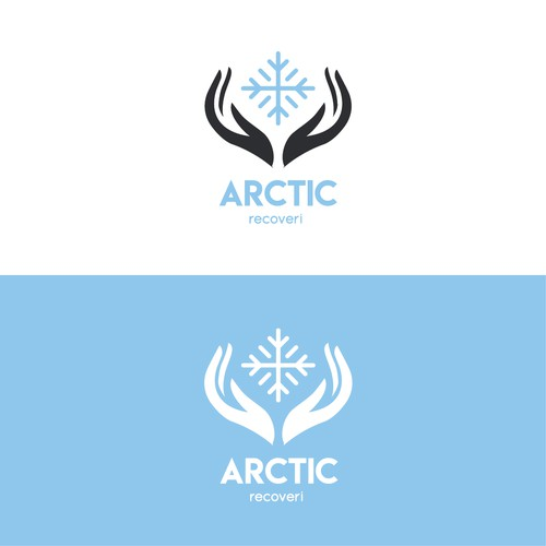 logo for medical clinic that uses freezing