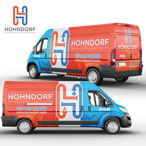 Full Wrap design for Hohndorf Company