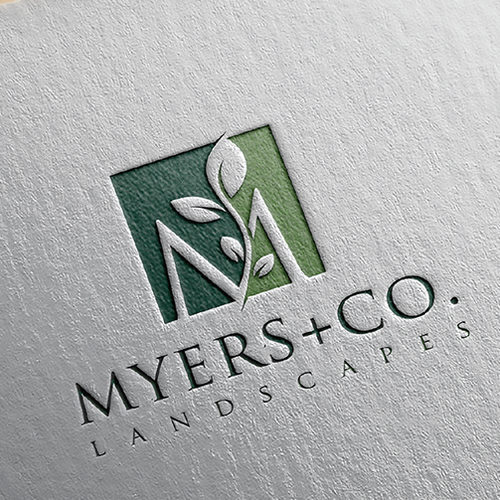 a captivating logo and website for MYERS + CO.