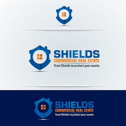 Create a new logo for a Commercial Real Estate company in Melbourne -SHIELDS COMMERCIAL REAL ESTATE