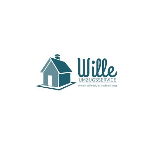 Logo für Umzugsunternehmen