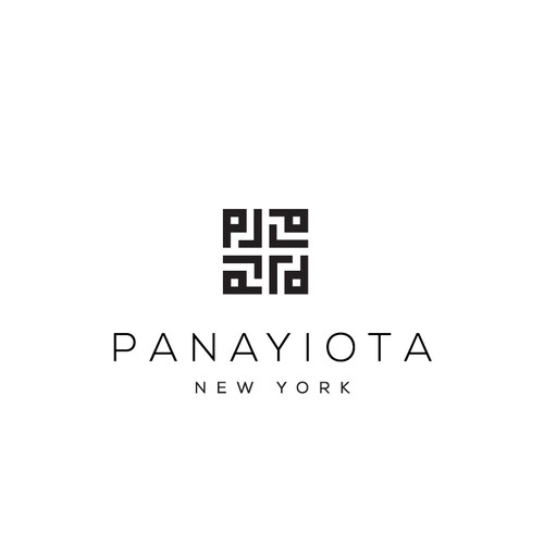 Geometric logo for fashion company