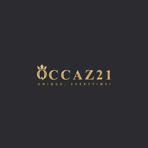 luxury logo concept for Occaz21