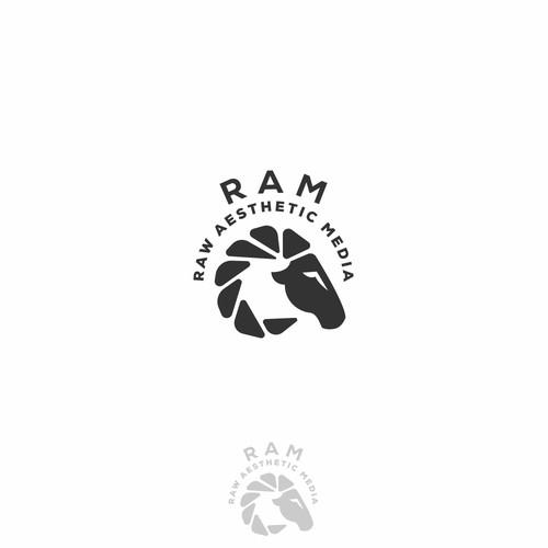RAM logo design