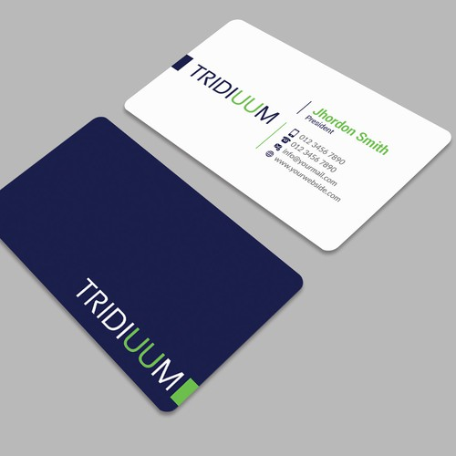 Design the business card for innovators leading the digital clinical industry