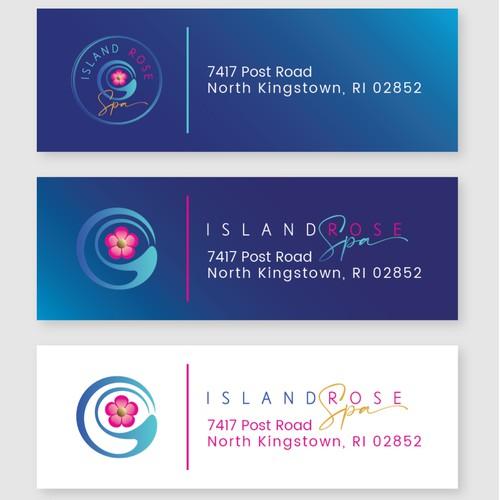 Return Adress Labels - IslandRoseSpa