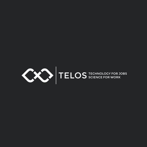 Create a logo for a computational social firm - telos company.