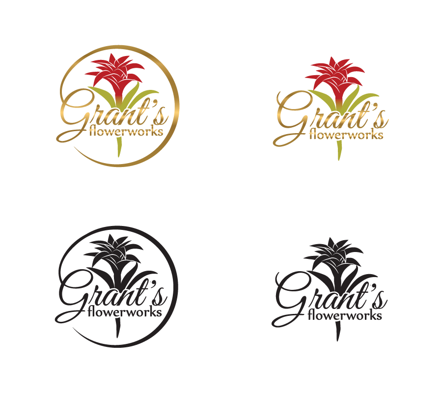 Grant's Flowerworks needs an awesome logo!