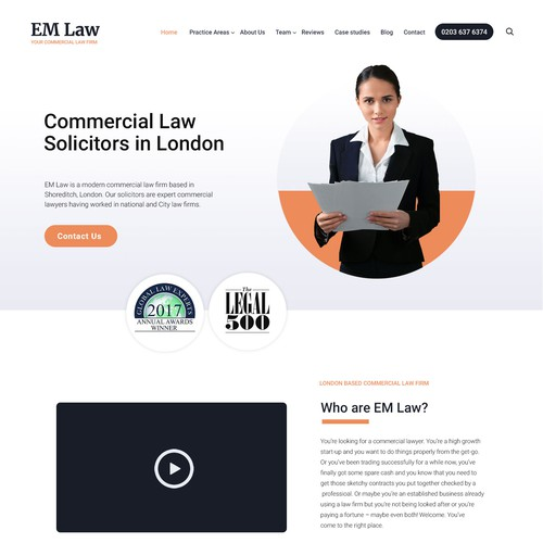 A commercial law firm
