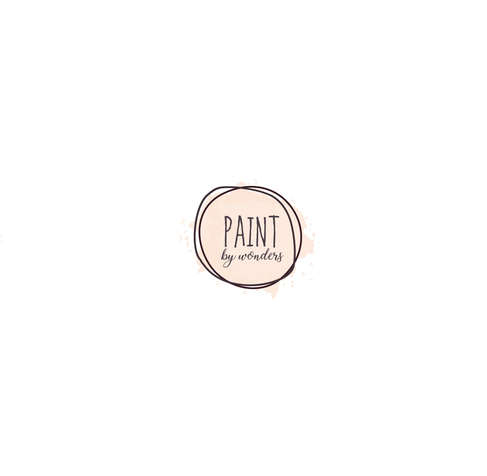 Create an eye catching logo for Paint by Wonders