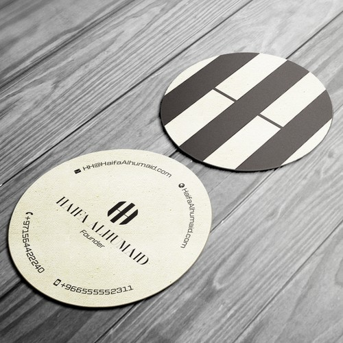 Business Card for a Fashion Designer