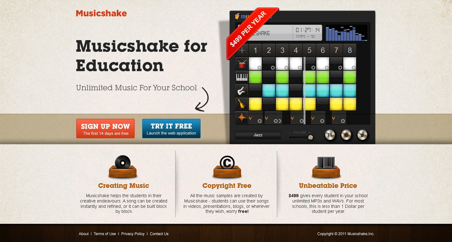 Awesome Music App for Schools - Musicshake