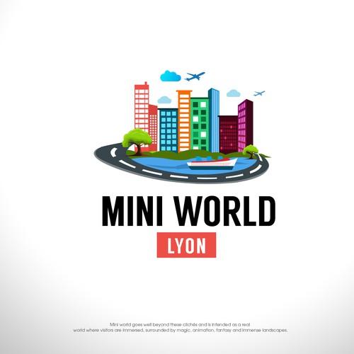 Mini world logo