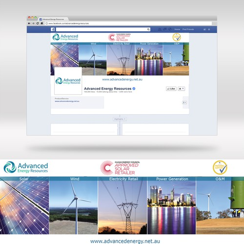 Facebook Cover for Advanced Energy Resources