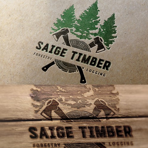 Logo for SAIGE TIMBER