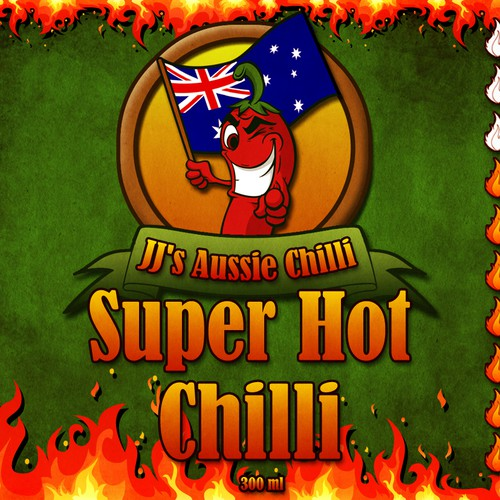 New product packaging wanted for JJ's Aussie Chilli