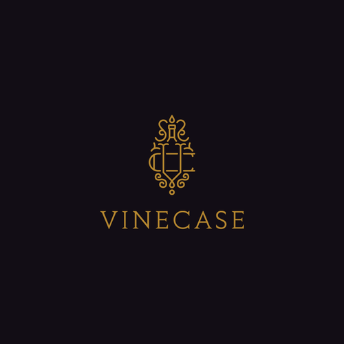 Logo for a premium wine selling company