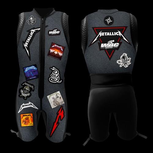 Metallica wetsuit concept