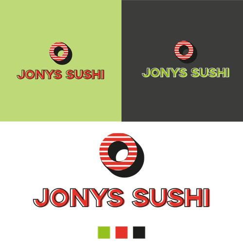 Logo design for Jonys Sushi