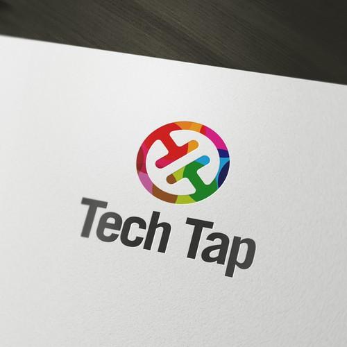 Tech Tap logo design proposition