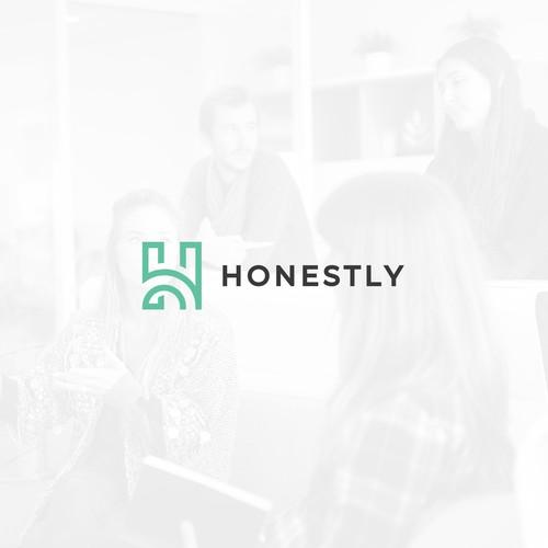 Logo design for Honestly