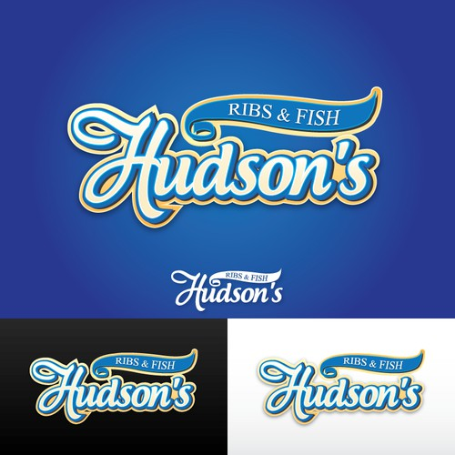 New logo wanted for Hudson's Ribs & Fish