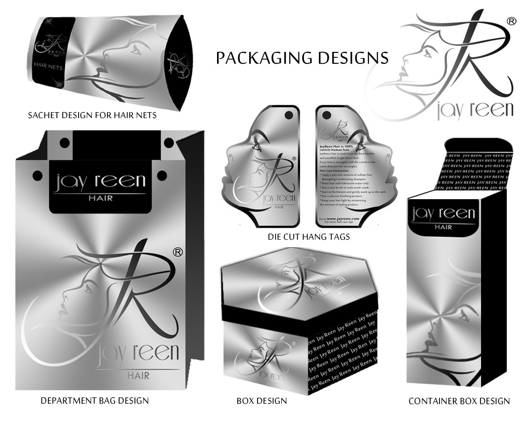 Jay Reen needs a new packaging design for our hair products