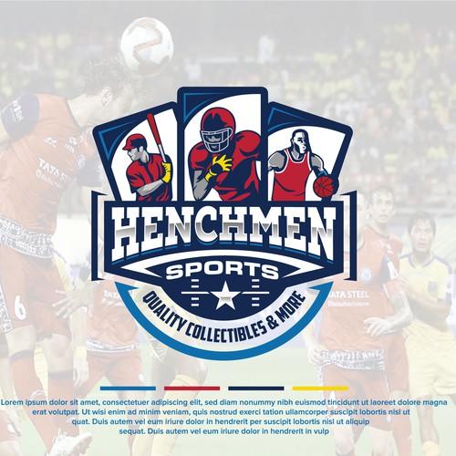 Henchmen Sports Logo Design