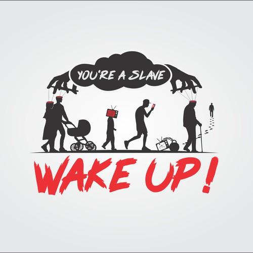 Wake up! logo design contest
