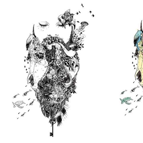 Beard Tee Designs