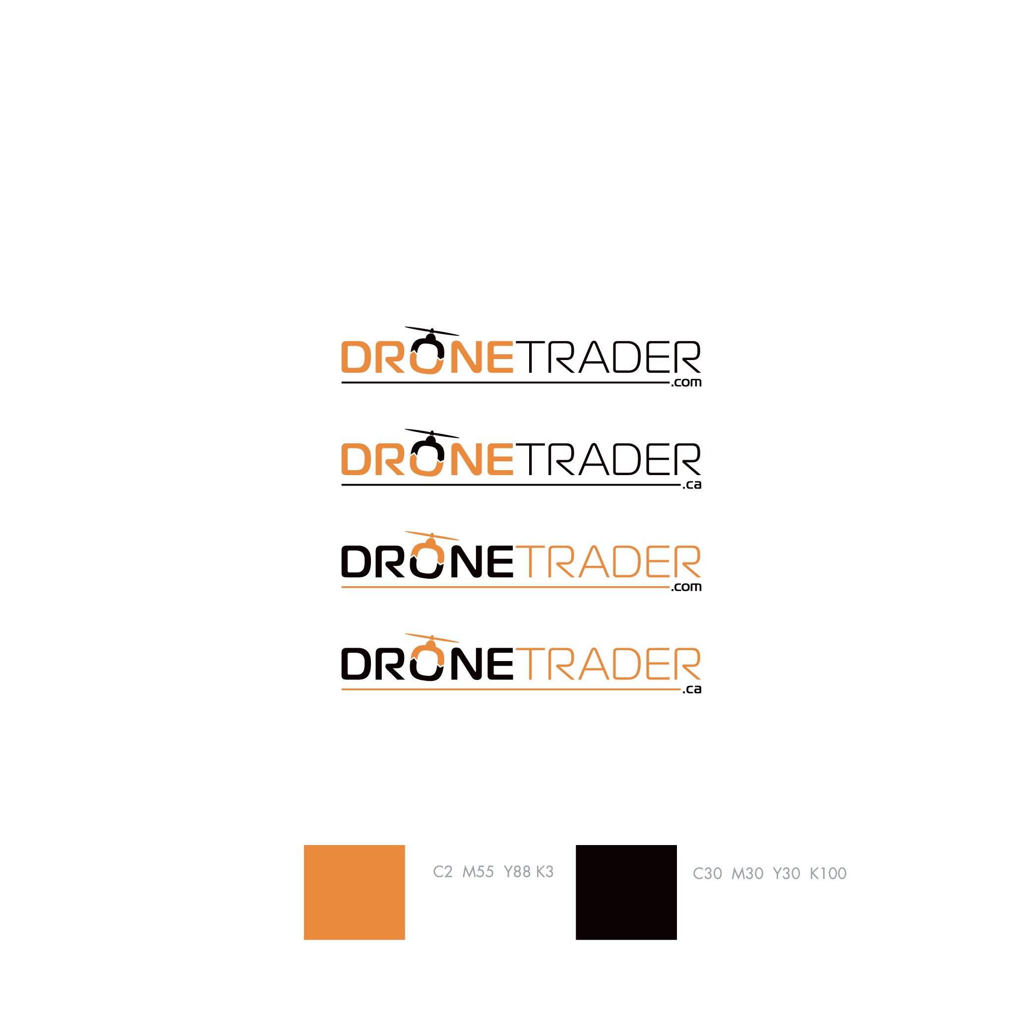 DroneTrader Classifieds Site Logo & Brand Guide Needed
