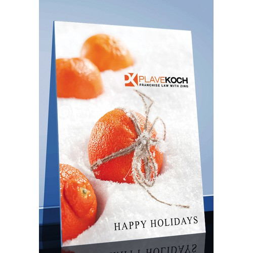 Create a Holiday card with Zing