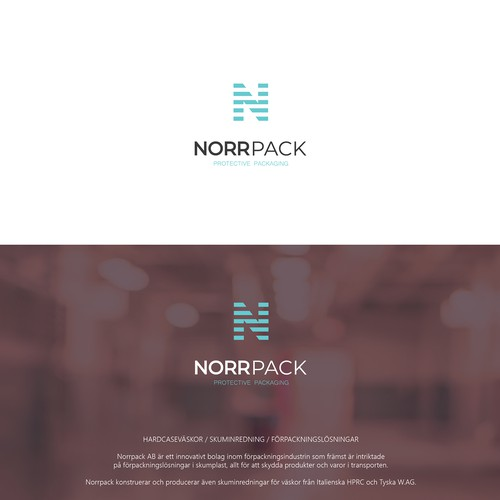 logo concept for Norrpack