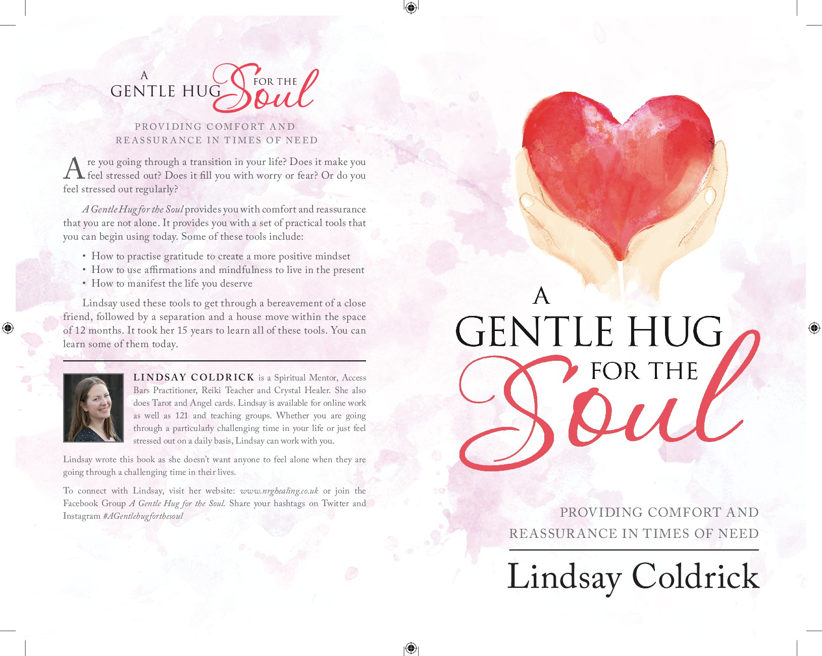 Do you feel as though you need A Gentle Hug for the Soul? Bookcover design wanted