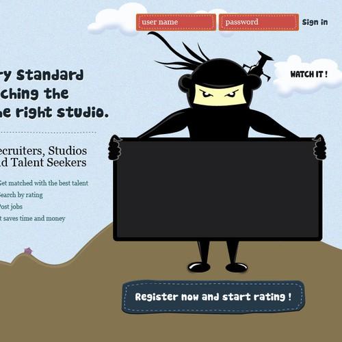 Simple yet creative web design