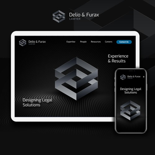 Modern, Professional Lawyer Website Design