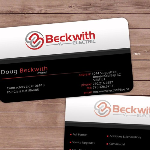 Design Letterhead & Business Card For Beckwith Electric