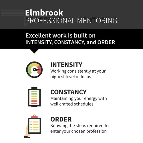 Mentoring Program Flat Design Flyer