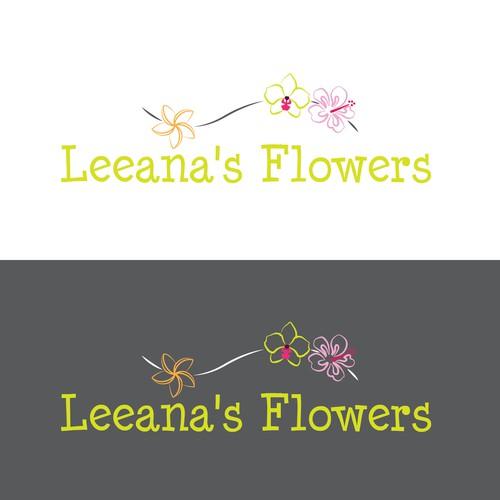 Help Leeana's Flowers with a new logo