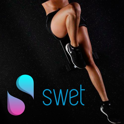 Logo for a bag for gym clothes