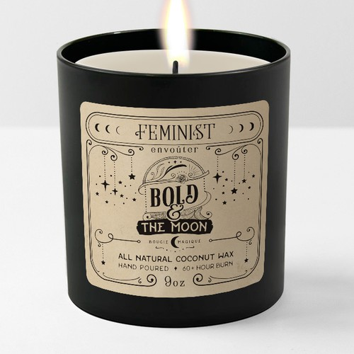 Label for a candle line