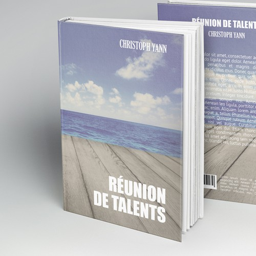 Cover for a new initiatory novel « Réunion de talents » (combination of talents)