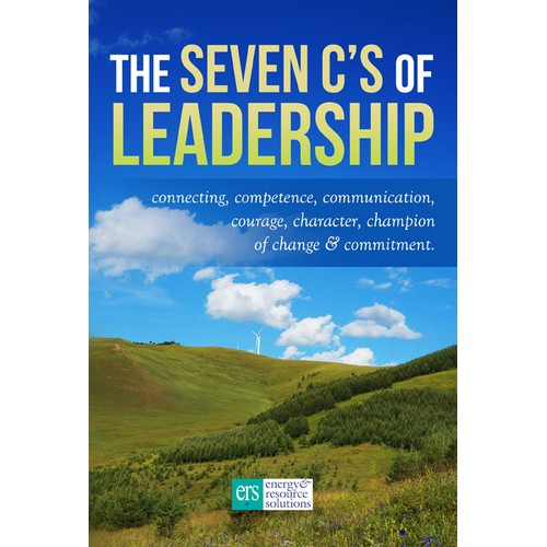 Create a cover for The Seven C's of Leadership